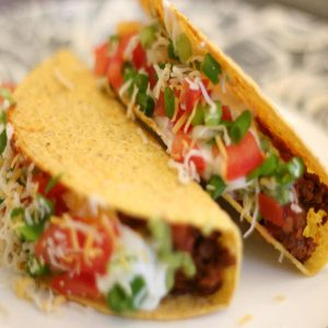 Mexican Tacos - Vegetarian Tacos