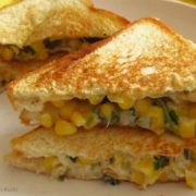 Corn Vegetable Sandwich
