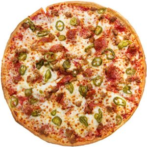 Jalapeno & Pepper Pizza