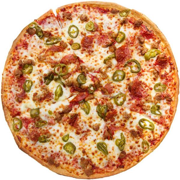 Jalapeno & Pepper Pizza