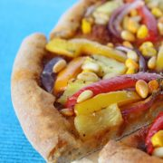 Pineapple Veg Pizza