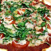 Green Chutney Margherita Pizza